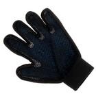 Рукавица-щетка для шерсти на правую руку из неопрена с удлиненными зубчиками, микс - Фото 6
