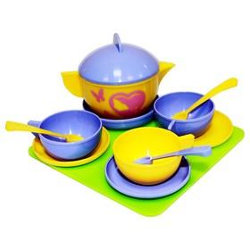 Набор посуды «Чайное трио», 12 элементов