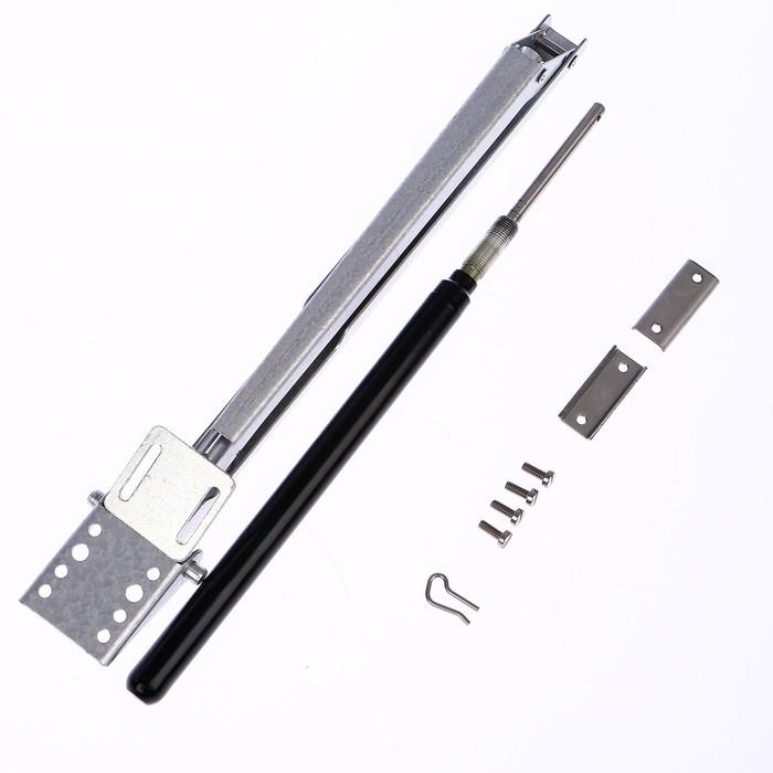 Автомат для проветривания теплиц, +17, +25°C, 14 кг, 1 пружина, универсальное открывание, сталь 3 мм, THERMOVENT