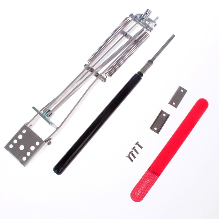 Автомат для проветривания теплиц, +17, +25°C, 14 кг, 2 пружины, универсальное открывание, алюминий 3 мм, UNIVENT