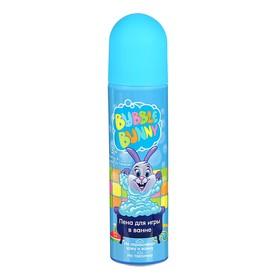 Пена для игры в ванне Funny Bunny голубая, 80 мл