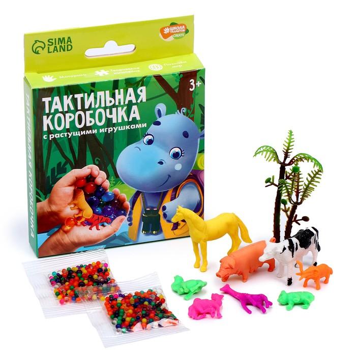 Тактильная коробочка Животный мир