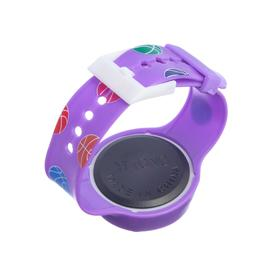Часы наручные детские 'Горошина', электронные, с силиконовым ремешком, микс, l=22 см Ош