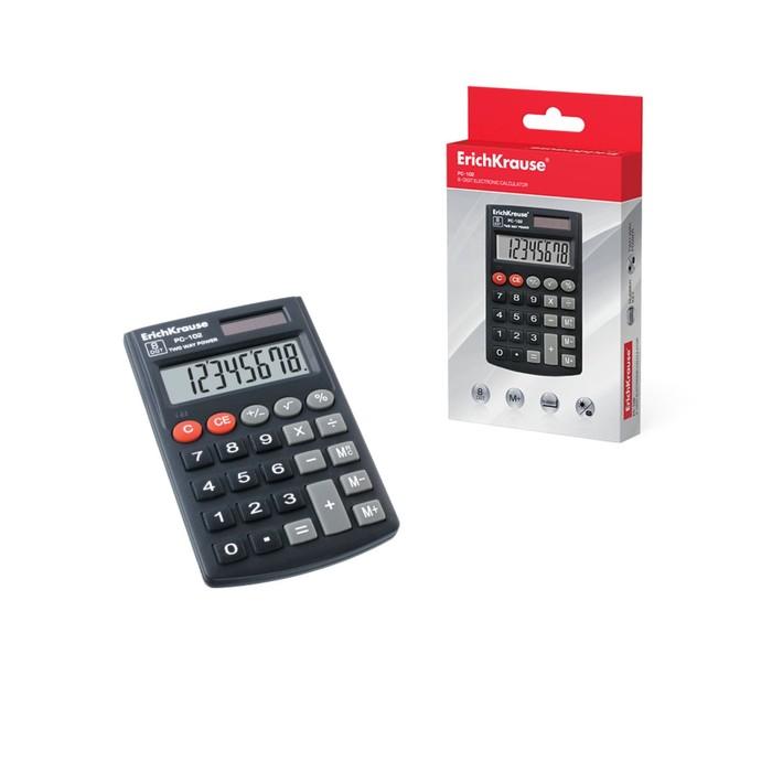 Калькулятор карманный 8-разрядный Erich Krause PC-102