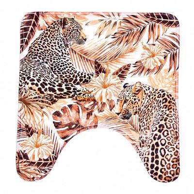 """Коврик в ванную комнату """"Леопарды"""" - Фото 1"""