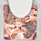 """Коврик в ванную комнату """"Леопарды"""" - Фото 2"""