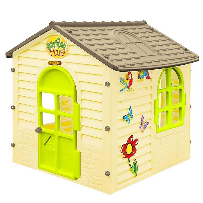 Детский игровой домик, цвет бежевый
