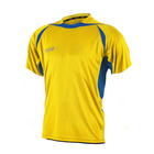 Футболка игровая MITRE ANGULAR Взросл(SR) желт/син кор рукав XS