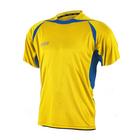 Футболка игровая MITRE ANGULAR Юниор(JR) желт/син кор рукав XSY