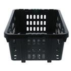 Ящик хозяйственный, 60×40×20 см, цвет чёрный - Фото 3