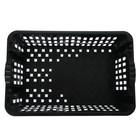 Ящик хозяйственный, 60×40×20 см, цвет чёрный - Фото 4