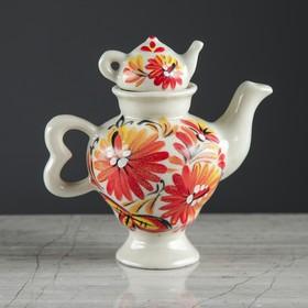 Чайник заварочный 'Самовар', малый, осень, 0,1 л Ош