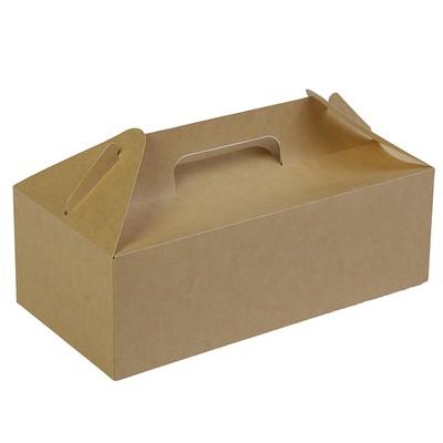 Коробка с ручками, 28,8 х 14,2 х 9,8 см - Фото 1