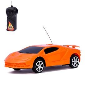 Машина радиоуправляемая «Суперкар», 1:24, работает от батареек, МИКС