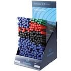 Ручка шариковая Schneider Tops 505M/505F, 4 цвета, 140/50 штук в дисплее SiS