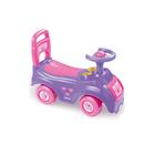Автомобиль-каталка, цвет розовый