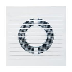 Вентилятор вытяжной AURAMAX A 4S С, 160х160 мм, d=100 мм, 220‒240 В, с обратным клапаном Ош