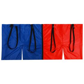 Шорты эстафетные, две штанины с лямками, взрослые, цвета микс Ош