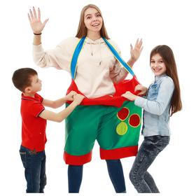 Штаны для игры с шарами детские, d=60 см, 35 х 56 см, цвета МИКС Ош