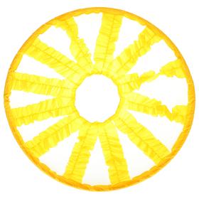 Кольцо препятствий эстафетное «Лучики», d 90 см, цвет жёлтый Ош