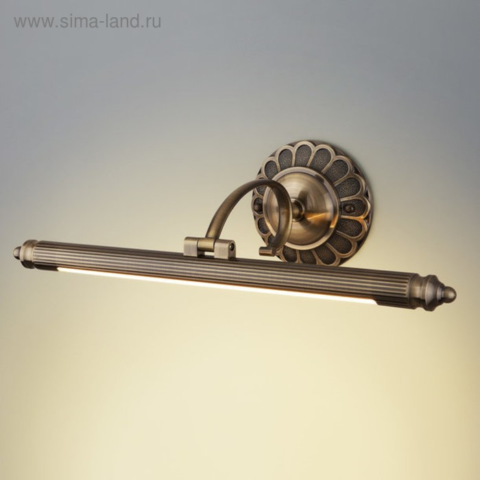 Светильник Luara 8Вт LED бронза 21x50x15см