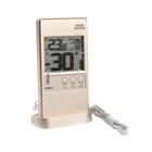 Термометр RST 01592, оконный, дом/улица, шампань