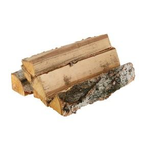Дрова берёзовые, колотые, 40 см, в сетке Ош