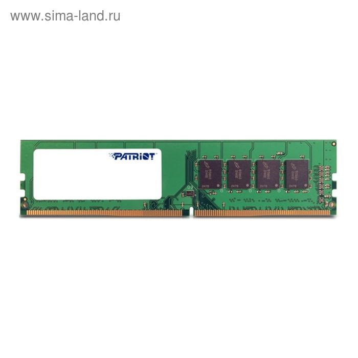 Память DDR4 8Gb 2133MHz Patriot PSD48G213381 RTL PC3-19200 CL16 DIMM 288-pin 1.2В