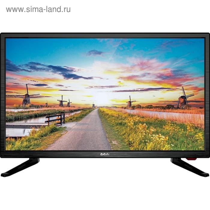 "Телевизор BBK 22LEM-1027/FT2C, 22"", 1920x1080, DVB-T2/C, 1xHDMI, 1xUSB, черный"