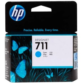 Картридж струйный HP №711 CZ130A голубой для HP DJ T120/T520 (29мл)