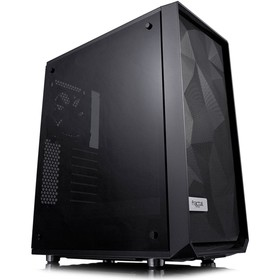 Корпус Fractal Design Meshify C Blackout TG, без БП, ATX, черный
