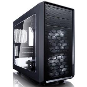 Корпус Fractal Design FOCUS G MINI Window, без БП, mATX, черный