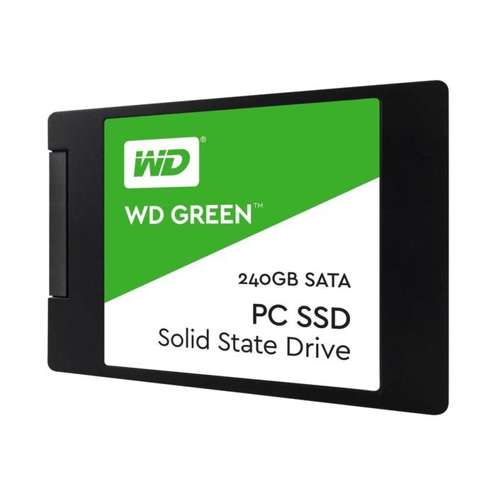 SSD накопитель WD Green 240Gb (WDS240G2G0A) SATA-III