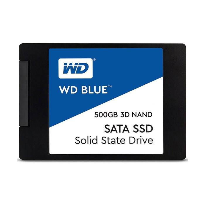 SSD накопитель WD Blue 500Gb (WDS500G2B0A) SATA-III