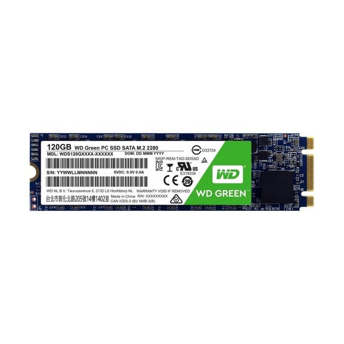 SSD накопитель WD Green 120Gb (WDS120G2G0B) SATA-III