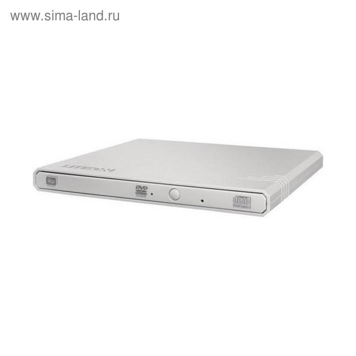 Привод DVD-RW Lite-On eBAU108 белый USB slim внешний RTL LITE-ON