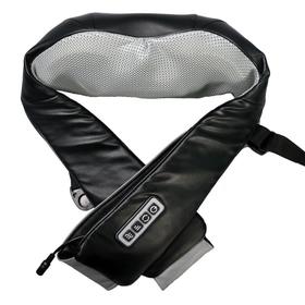 Массажер для шеи и плеч RestArt RA-342 uBlack, 3 скорости, 8 роликов, ИК-прогрев