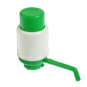 Помпа для воды 'Дельфин' Эко, механическая, под бутыль от 11 до 19 л, зеленая Ош