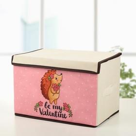 Короб для хранения с крышкой «Ёжик», 39×25×25 см Ош