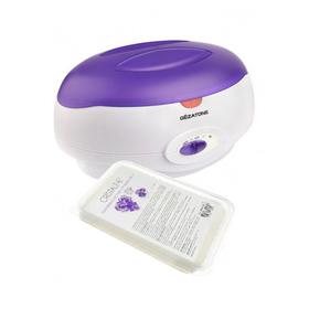 Набор для парафинотерапии (нагреватель+ парафин 450мл х 2 + термолосьон) Gezatone WW3550 Ош