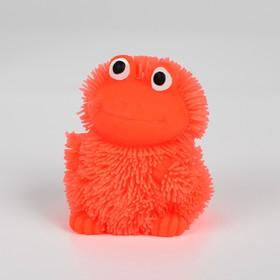 Ёжка «Лягушка», резиновый, световой, цвета МИКС