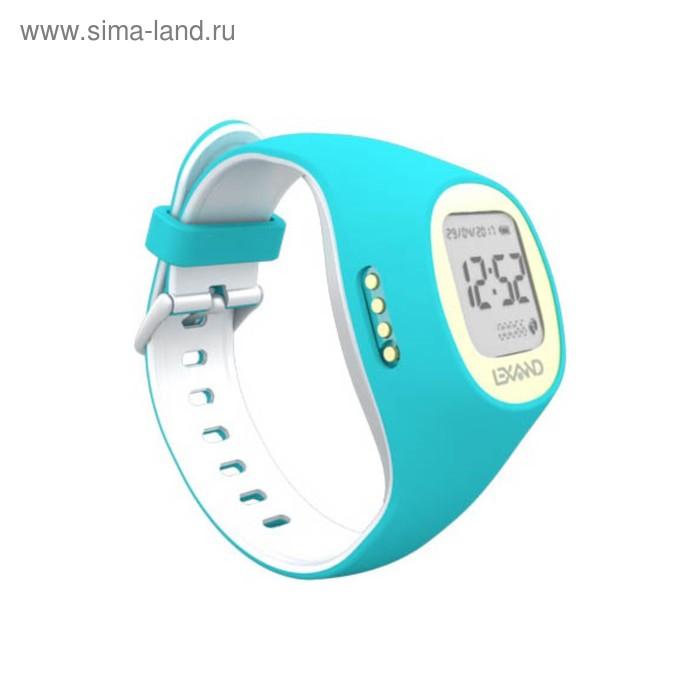 """Смарт-часы Lexand Kids Radar, детские, дисплей 0.9"""", бело-голубые"""