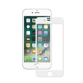 Защитное стекло DEPPA (62036) 3D для iPhone, 7 белое, 0,3мм