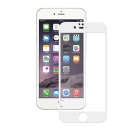 Защитное стекло Deppa (61998) 3D для iPhone 6/6s Plus, 0,3 мм, белое