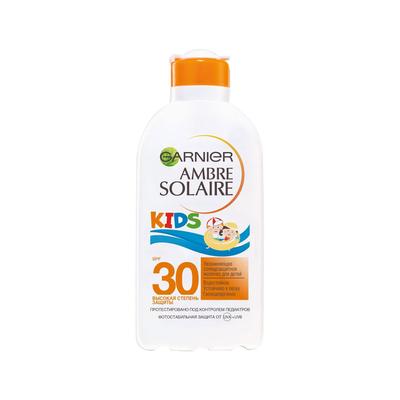 Детское солнцезащитное молочко для тела «Непобедимое», увлажняющее, водостойкое, гипоаллергенное, SPF 30, 200 мл