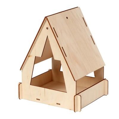Кормушка для птиц «Юрта», 22 × 17 × 17 см