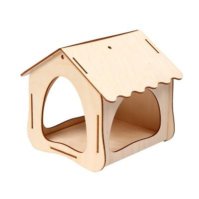 Кормушка для птиц, 19 × 18,5 × 18 см - Фото 1