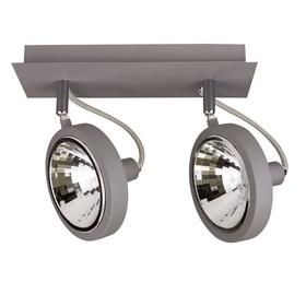 Светильник VARIETA 2х40Вт G9 серый 10x25x20см