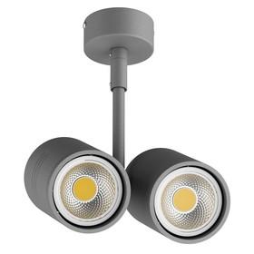 Светильник RULLO 50Вт GU10 серый