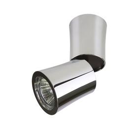 Светильник ROTONDA 50Вт GU10 хром 6,8x6,8x15,8см